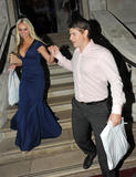 Дженнифер Эллисон, фото 906. Jennifer Ellison leaving the Ghost of Musical in London, july 19, foto 906