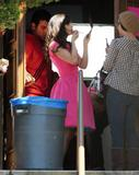 Zooey Deschanel @ On the set of a music video shooting in Los Angeles - 04/16/13 - 29x (HQ)