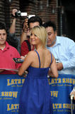 "Kaley Cuoco arrives at the ""Late Show with David Letterman"" in New York City - June 23, 2008"