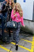 Katie Price at ITV Studios 19th January x7