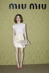 Emily Browning Miu Miu Resort Collection in Paris 07-05-2014