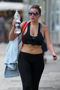 Imogen Thomas in London 16th April x5