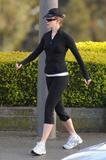 Николь Кидман, фото 1991. Nicole Kidman going for an early morning run in San Francisco - March 25, foto 1991
