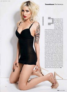 The Veronicas sexy uncovered FHM