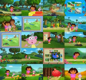 Image Result For Dora Into The