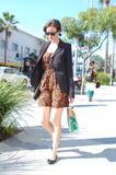 Alexis Bledel - Candids in Beverly Hills - Nov 8, 2011 (x13)