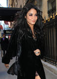 Vanessa Anne Hudgens | Arriving @ Diesel Black Gold Fall Fashion Show during MBFW in NYC | February 15 | 14 pics