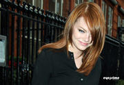Emma Stone Leaving her Hotel in London 10/6/11