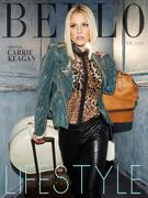 Carrie Keagan - Bello Magazine February 2014 issue